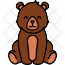 Bear Animal Forest Icon