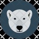 Bear Face Animal Icon