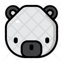 Bear Winter Christmas Icon