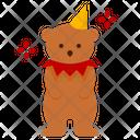 Bear Animal Show Circus Carnival Icon