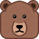 Bear Grizly Teddy Icon