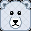 Bear Ice Polar Icon