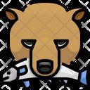 Bear Bear Hunting Fish Hunting Icon