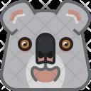 Bear Eucalyptus Koala Icon