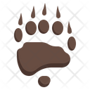 Bear Grizzly Camping Icon