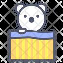 Bear Bed Bear Bed Icon