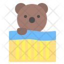 Bear bed Icon