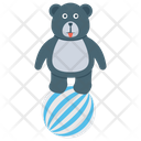 Bear Circus Circus Show Animal Circus Icon