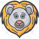 Bear Face Grizzly Icon