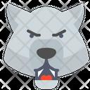 Bear Furious Icon