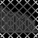 Bear Market Economic Graph Icon