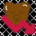 Bear Market Bears Down Icon