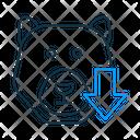 Bear Market Bear Market Icon