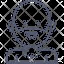 Yoga Amulet Beard Icon