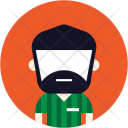 Beard Uniform Amn Icon