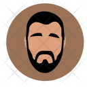 Man Beard Skin Icon
