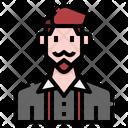 Beard Man Icon