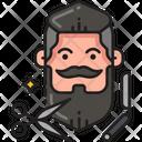 Beard Trim Icon