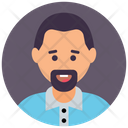 Bearded Man Icon