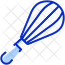 Beater Mixer Whisk Icon