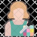 Beautician Job Avatar Icon