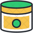 Beauty Cream Container Icon