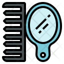 Comb Mirror Set Icon