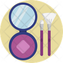 Beauty Mirror Brush Icon