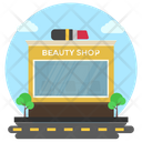 Beauty Shop Cosmetics Business Commercial Market Icon
