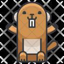 Beaver Animal Icon