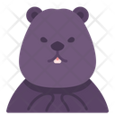 Beaver Animal Creature Icon