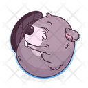 Beaver Sleep Icon