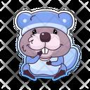 Beaver Sleepwear Icon