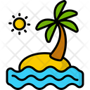 Bech Beach Ocean Icon