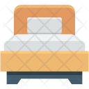Bed Bedroom Bedstead Icon