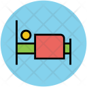 Bed Sleeper Single Icon