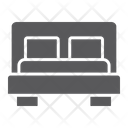 Bed Furniture Hotel Icon