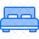 Bed Pillow Furniture Icon