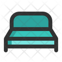 Bed Mattress Beds Icon