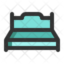 Bed Spring Bed Furniture Icon