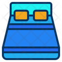 Bed Sleep Hotel Icon