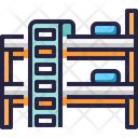Bed Bunk Bed Dormitory Icon