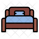 Ibed Room Single Bed Icon