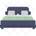 Bed Bedroom Double Bed Icon