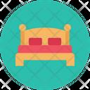 Mattress Bed Wooden Icon