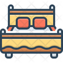 Bed Bedstead Bunk Icon
