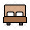 Bed Hotel Room Icon