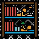 Bed Bunk Hostel Icon