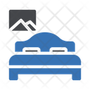 Bed Furniture Interior Icon