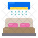 Bed Furniture Room Icon